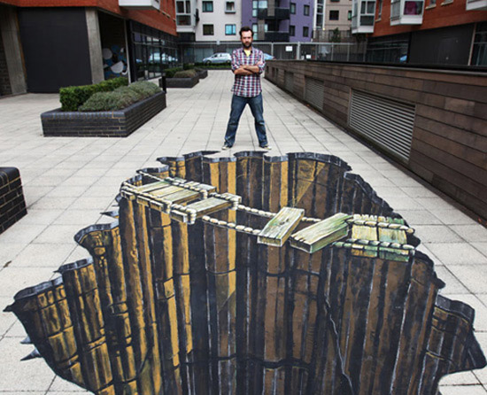 Interesting-3D-Street-Art-Paintings-7 26 Most Stunning 3D Street Art Paintings