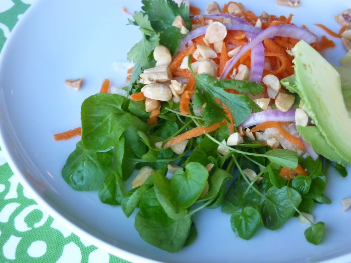 JICAMA-WATERCRESS-SALAD For Health Seekers, Watercress Has Bountiful Health Benefits