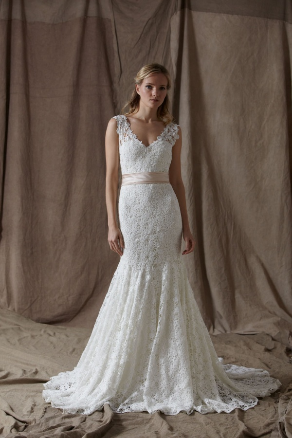 Lela-Rose-Spring-2014-Wedding-Dresses-08 19 Most Breathtaking Bridal Dresses Ideas For 2019