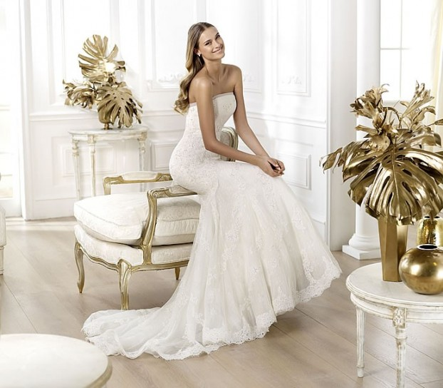 Lexi-Pronovias-wedding-dresses-2014 19 Most Breathtaking Bridal Dresses Ideas For 2020