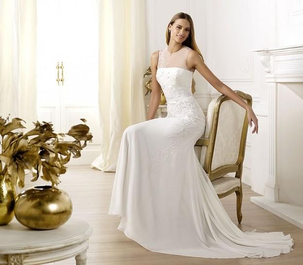 Libusa-Pronovias-wedding-dresses-2014 +25 Most Breathtaking Bridal Dresses Ideas For 2021
