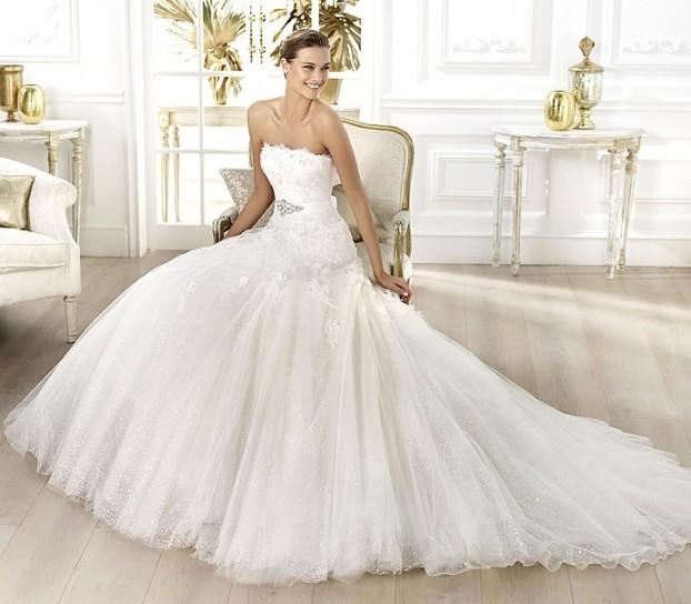 Liceria-Pronovias-wedding-dresses-2014 +25 Most Breathtaking Bridal Dresses Ideas For 2021