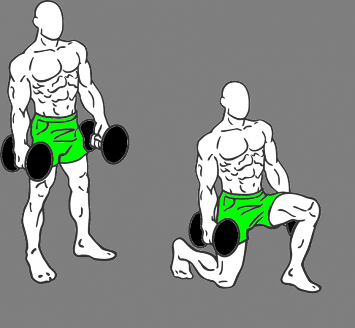 Lunges 10 MMA Workouts to Achieve Fitness