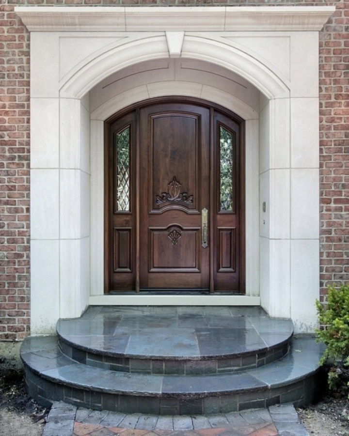 Luxury-Wooden-Main-Door 23 Designs To Choose From When Deciding On A Front Door