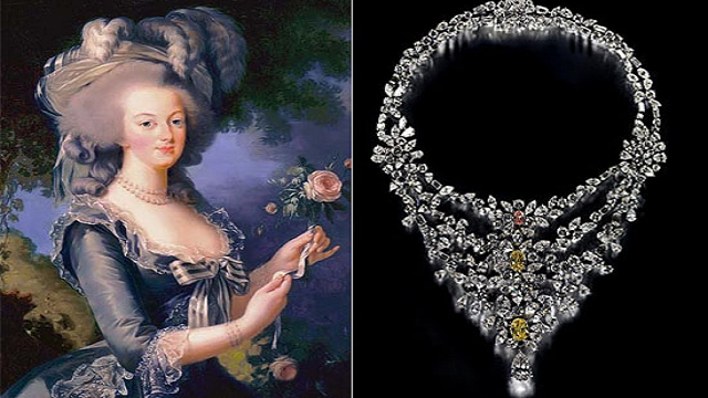 Marie-Antoinette-Necklace Top 25 Pieces Of Most Expensive Jewelry In The World