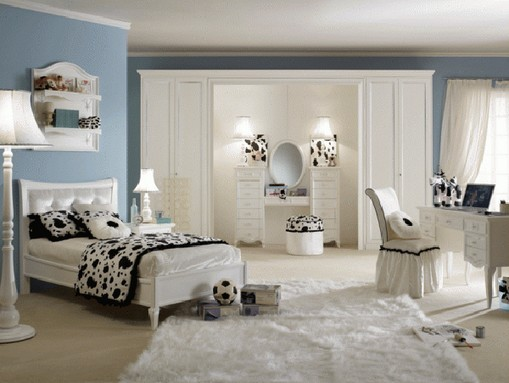 Modern-Bedroom-Design-Ideas-For-Teenage-Girls-with-Colorful-Concept-52 Modern Ideas Of Room Designs For Teenage Girls