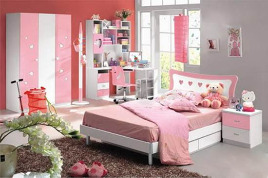 Modern bedroom design ideas for teenage girls for Modern bedroom designs for teenage girls