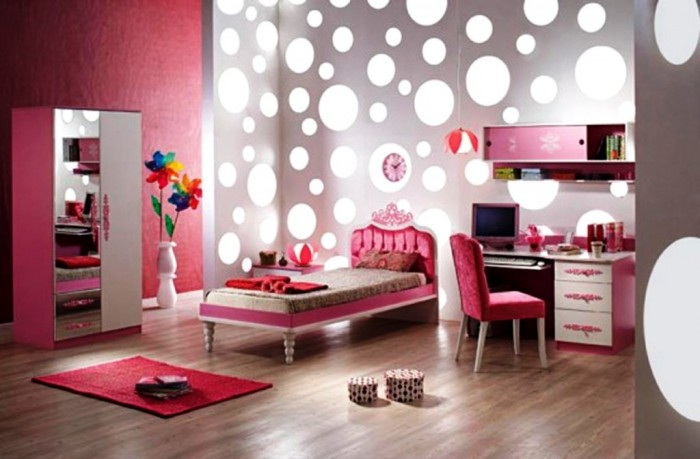 Modern-Bedroom-Designs-for-Teenage-Girls-with-Pink-Furniture-1024x6722 Modern Ideas Of Room Designs For Teenage Girls