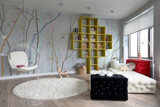 Modern-Contemporary-Teen-Bedroom-Design-Ideas-11 Modern Ideas Of Room Designs For Teenage Girls