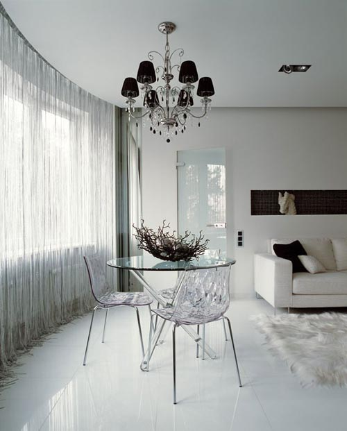 Modern-Interior-apartment-modern-lacquered-furniture-combined-with-luxurious-classic-interior 19 Creative Interior Designs For Your Home