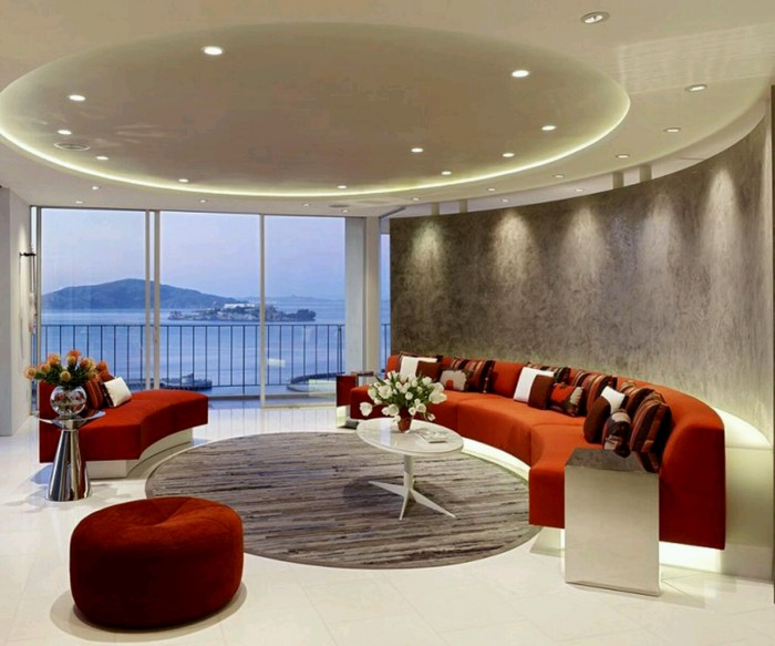Modern-interior-decoration-living-rooms-ceiling-designs-ideas..1 Fantastic Ceiling Designs For Your Home