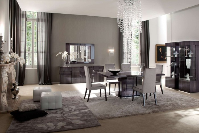 Montecarlo-Contemporary-Dining-Room-Furniture 45 Most Stylish and Contemporary Dining rooms