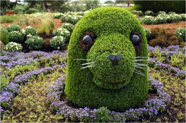 Most-Amazing-Grass-Sculptures-15-634x420 23 Remarkable Grass Sculptures