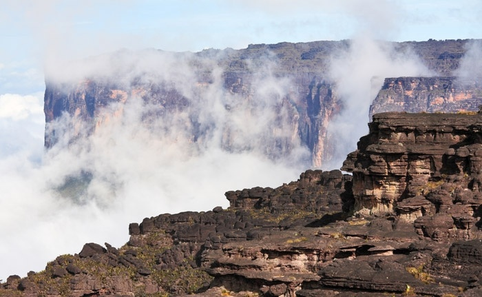Mount-Roraima-South-America 25 Unbelivable Places Which You'll Hardly Believe Its Existence In The World