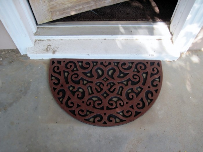 New-Doormat1-e1363750869512 5 Tips On Choosing The Suitable Front Door Mat Or Rug