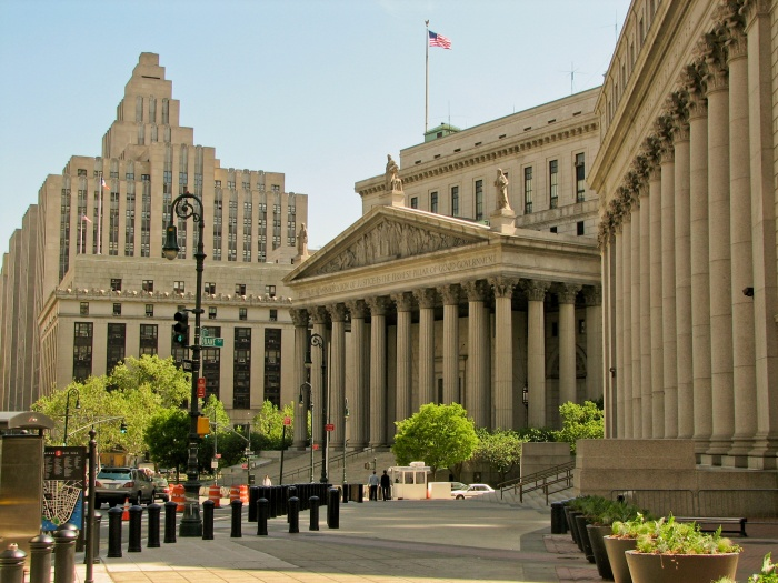 "New_York_City_Court ""New York City"" Is The Most Populous City In The United States"