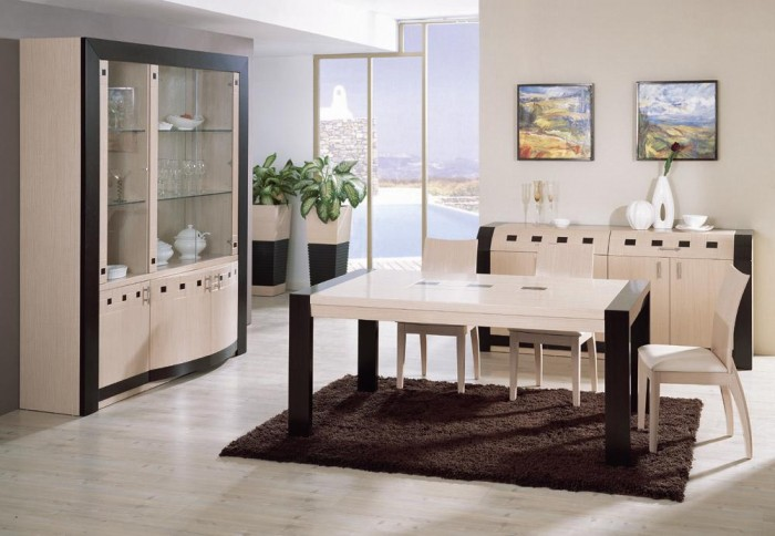PIGALLE-Contemporary-Modern-Dining-Set 45 Most Stylish and Contemporary Dining rooms