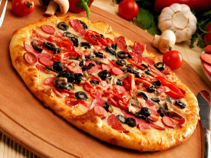 Pizza-Wallpapers11 Pizza !!! Do You Ever Think If It Is A Right Nutrition For You And Your Family?!