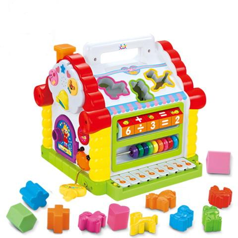 Plastic-Toy-Children-Toy-Educational-Toys-B-O-Blocks-house-With-Music-H0895021- Learning Early Is Always Best, So Pick Up An Educational Toy For Your Kid