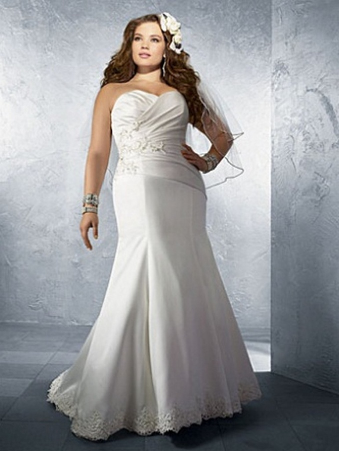 Plus-Size-Wedding-Dress-2012-2013-For-women-6 Tips To Choose The Perfect Plus Size Bridal Dress...