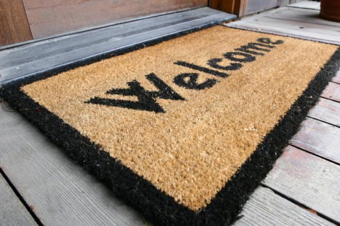 Prep_Home_Welcome_Mat 5 Tips On Choosing The Suitable Front Door Mat Or Rug