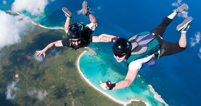 RumCaySkydive Skydiving Is A Recreational Activity And Competitive Sport,Do You Have Any Pervious Experience?