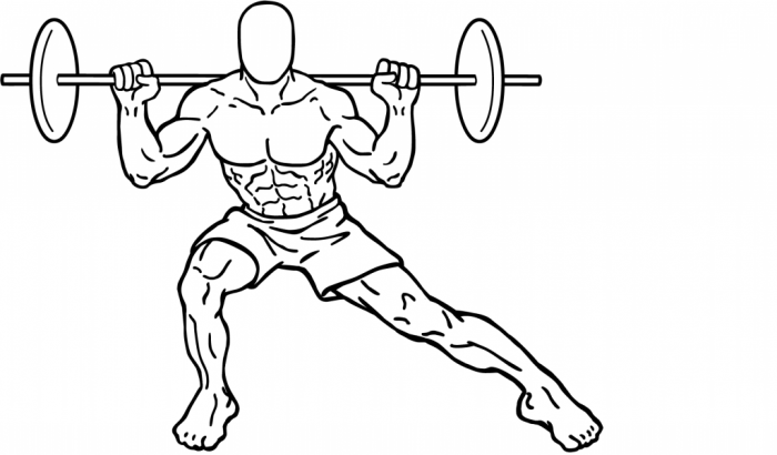 Side-split-squats-2 What Are the Military Workouts?