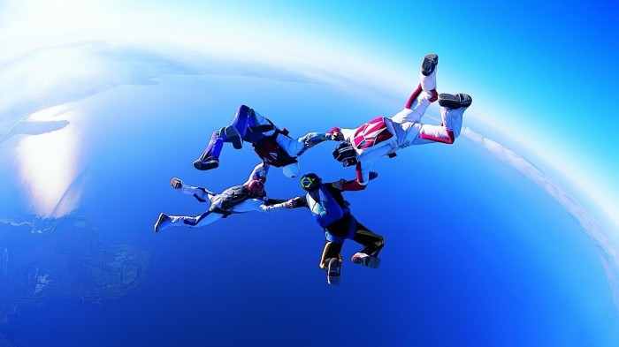Skydiving-Circle-of-Four_www.FullHDWpp.com_ Skydiving Is A Recreational Activity And Competitive Sport,Do You Have Any Pervious Experience?