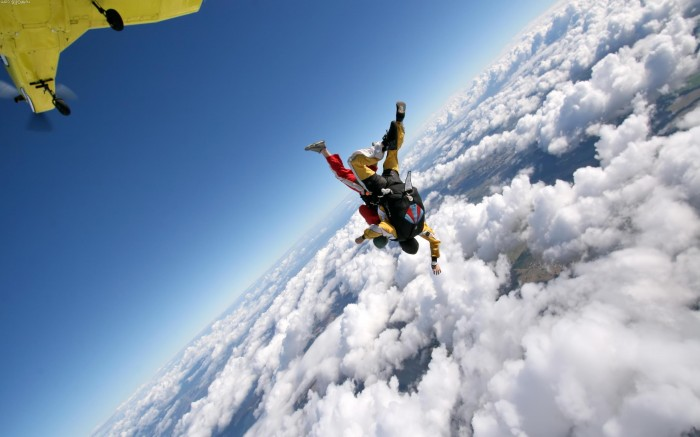 Skydiving_parachuting_tandem Skydiving Is A Recreational Activity And Competitive Sport,Do You Have Any Pervious Experience?