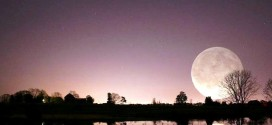 15 Stunning Images Of A Supermoon Taken In Different Locations