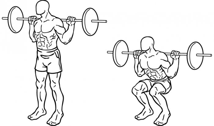 Squats2 How to Increase Your Vertical Jump by 12 Inches in Few days