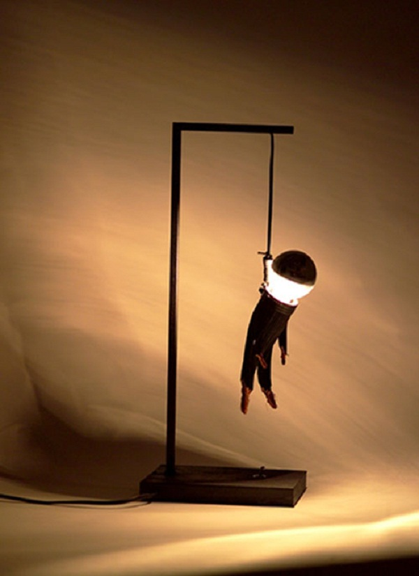 Table-Lamp-Design-Ideas 30 Most Creative and Unusual lamp Designs