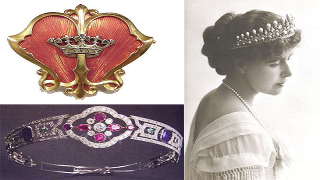 Tiara-and-Pecten-Shell-Shaped-Brooch Top 25 Pieces Of Most Expensive Jewelry In The World