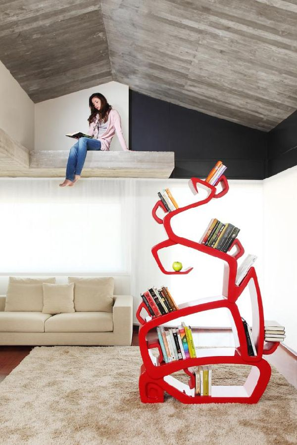 Unique-bookcase-design 40 Unusual and Creative Bookcases