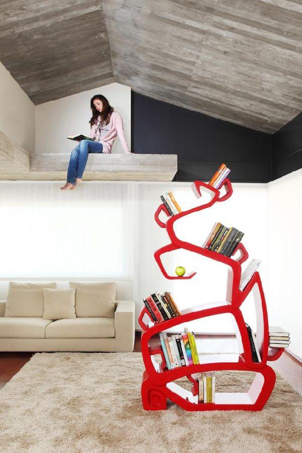 Unique-bookcase-design 40 Unusual and Creative Bookcases