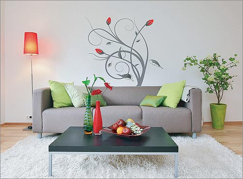 Wall-Art-for-Your-Home Tips On Choosing Wall Papers For Your Living Room