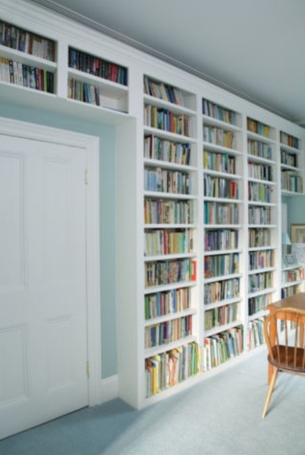Wall-Bookshelf-design 26 Of The Most Creative Bookshelves Designs