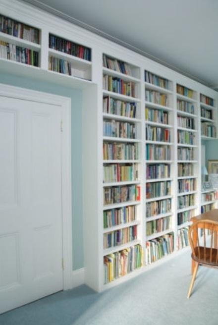 Wall-Bookshelf-design 26 Of The Most Creative Bookshelves Designs