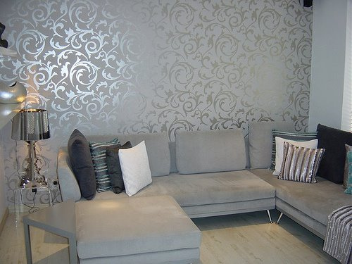 Wall decor wallpaper home decoration club for Wallpaper decoration for home