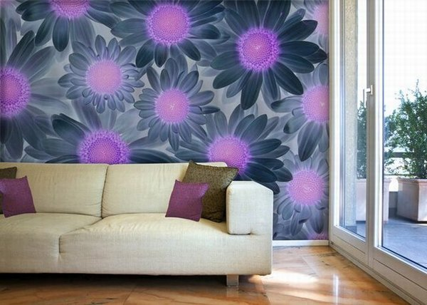 Wall-Murals-Wallpaper Tips On Choosing Wall Papers For Your Living Room