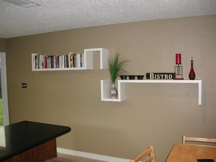 Wall-shelves-design 26 Of The Most Creative Bookshelves Designs