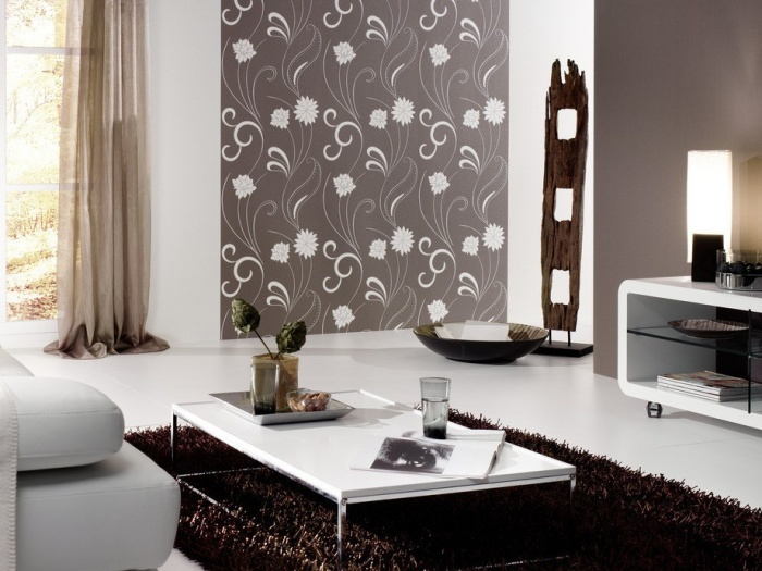 Wallpaper-designs-for-duplex-living-room Tips On Choosing Wall Papers For Your Living Room