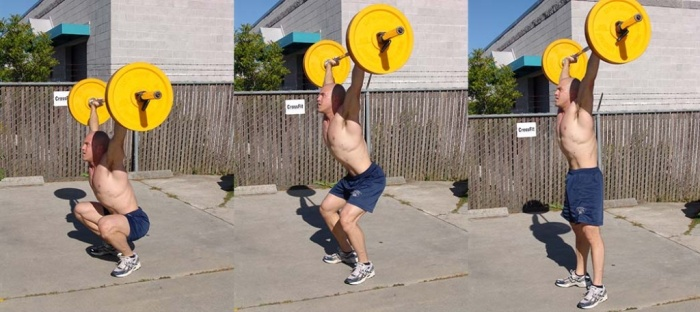 WiscFit_OverheadSquat1 What Are the Military Workouts?