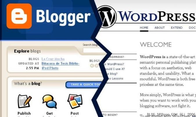 Wordpress-vs-Blogger How to Professionally Move a Free Blog from Blogger to Paid Hosting