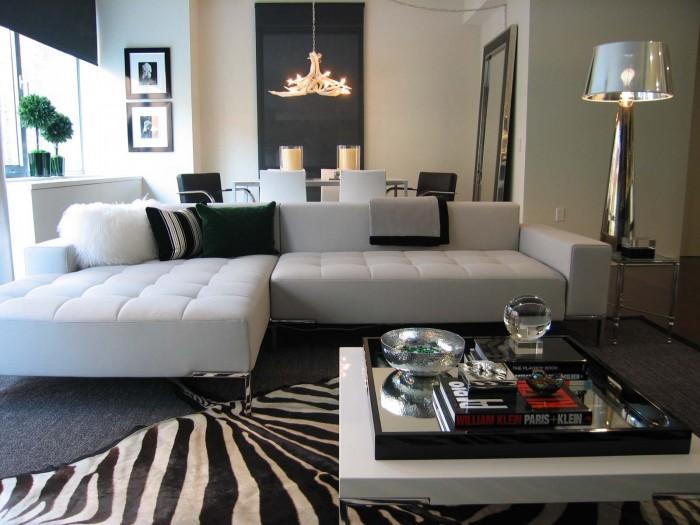 Zebra-print-rug-interior-design-nyc 19 Creative Interior Designs For Your Home