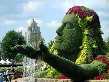 a.aaa-Increadible-Grass 23 Remarkable Grass Sculptures