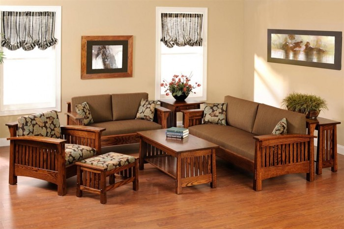 amish_mission_living_room_furniture +20 Modern Ideas For Living Rooms Designs