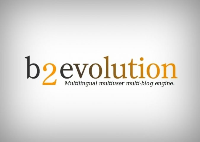 b2evolution-logo How to Professionally Move a Free Blog from Blogger to Paid Hosting
