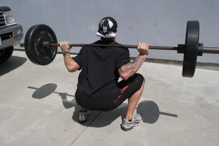 back-squat How to Increase Your Vertical Jump by 12 Inches in Few days