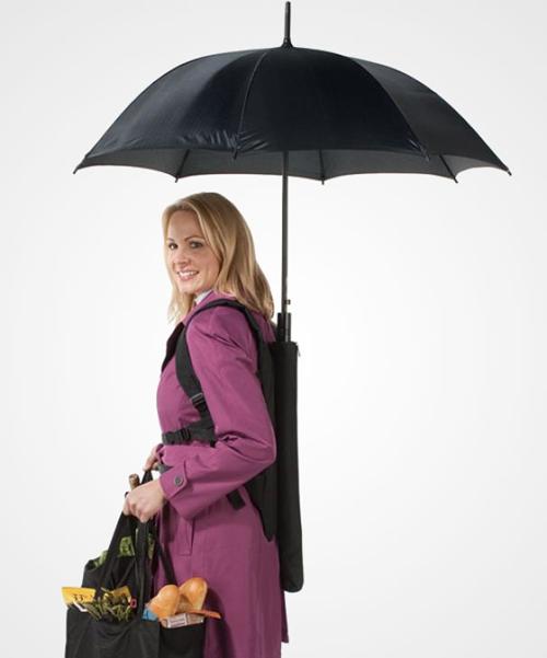 backpack1 18 Insanely Unique Umbrellas